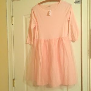 Blush pink girls dress
